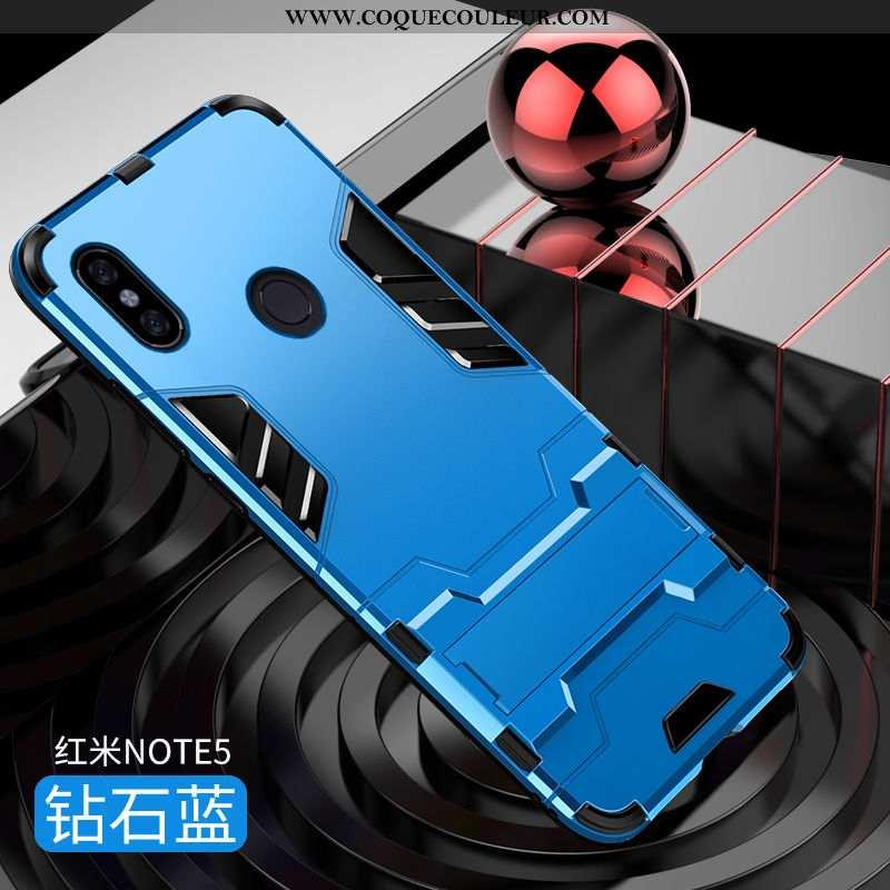 Étui Xiaomi Redmi Note 5 Silicone Incassable Bleu, Coque Xiaomi Redmi Note 5 Protection Bleu