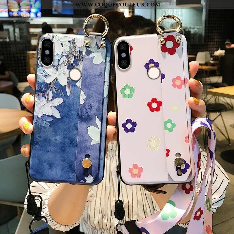 Étui Xiaomi Redmi Note 5 Fluide Doux Bleu Coque, Coque Xiaomi Redmi Note 5 Silicone Téléphone Portab