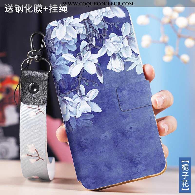 Coque Xiaomi Redmi Note 5 Créatif Bleu Petit, Housse Xiaomi Redmi Note 5 Cuir Protection