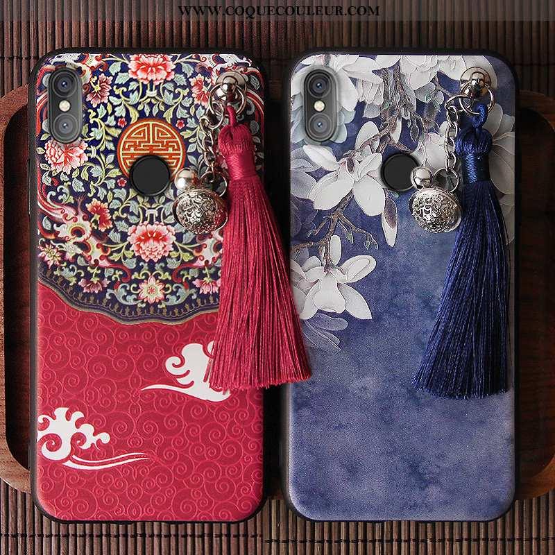 Housse Xiaomi Redmi Note 5 Vintage À Franges Tout Compris, Étui Xiaomi Redmi Note 5 Tendance Petit R