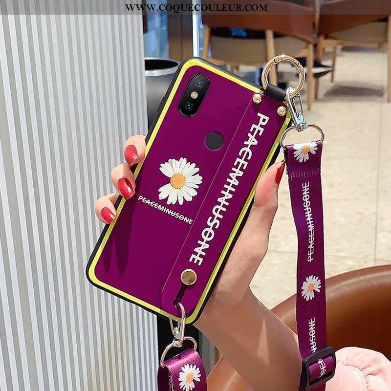 Coque Xiaomi Redmi Note 6 Pro Fluide Doux Petite Marguerite Incassable, Housse Xiaomi Redmi Note 6 P