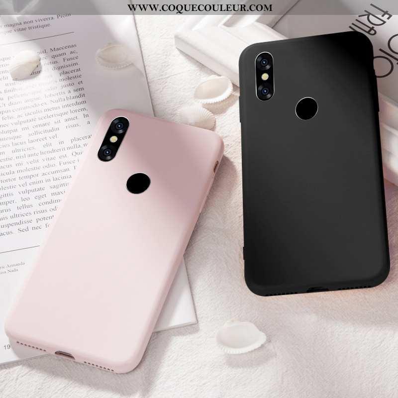 Étui Xiaomi Redmi Note 6 Pro Protection Pure Étui, Coque Xiaomi Redmi Note 6 Pro Personnalité Rouge