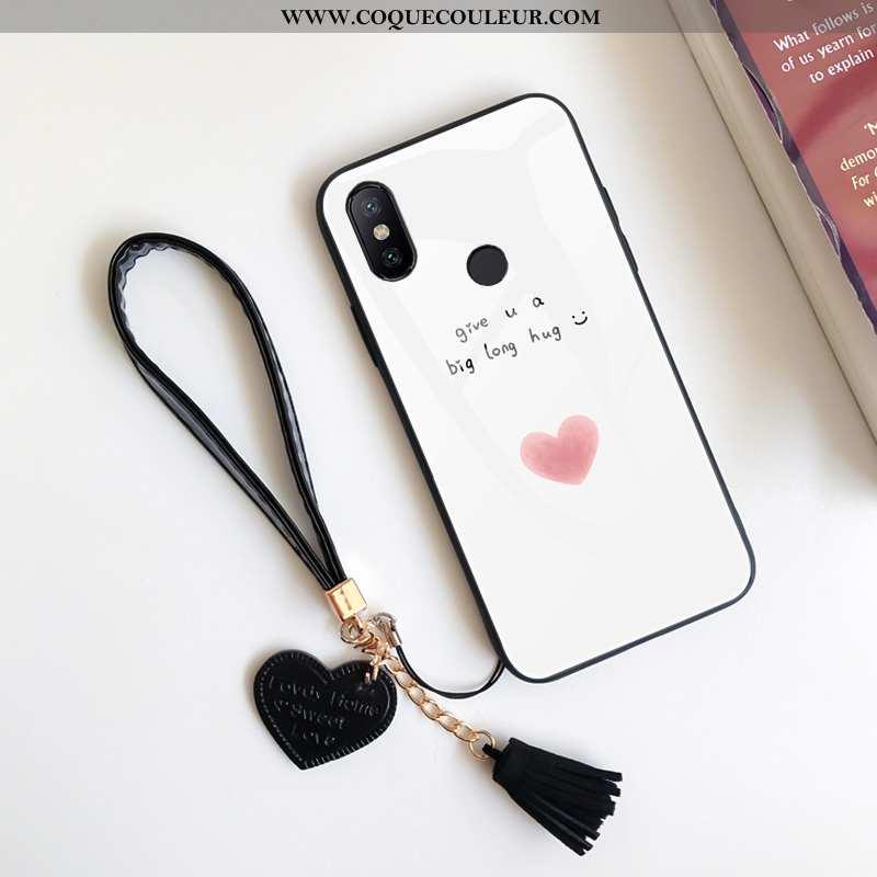 Coque Xiaomi Redmi Note 6 Pro Tendance Protection Fraise, Housse Xiaomi Redmi Note 6 Pro Silicone In