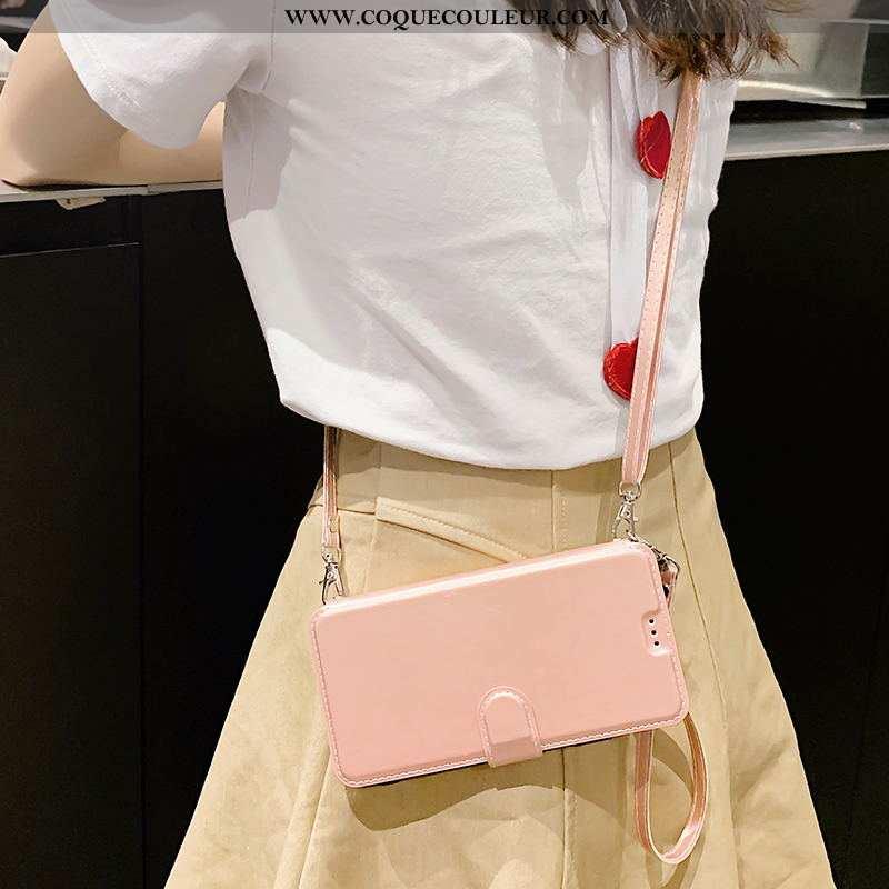 Housse Xiaomi Redmi Note 6 Pro Cuir Petit Téléphone Portable, Étui Xiaomi Redmi Note 6 Pro Rose Sac