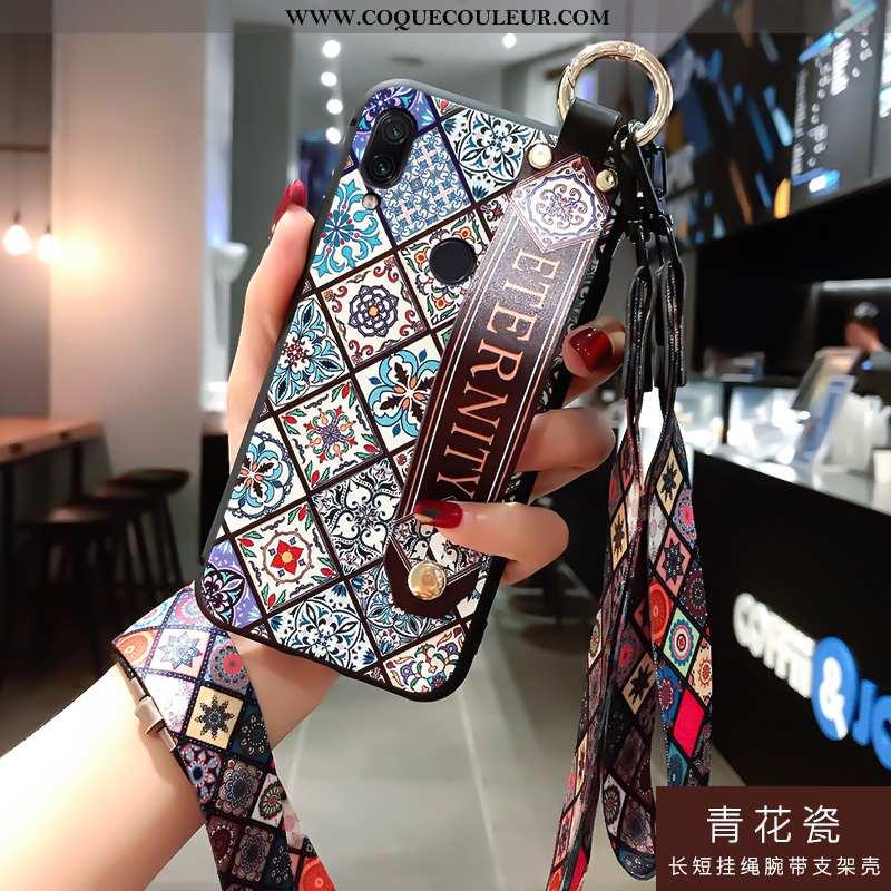 Housse Xiaomi Redmi Note 7 Ornements Suspendus Rouge Incassable, Étui Xiaomi Redmi Note 7 Personnali