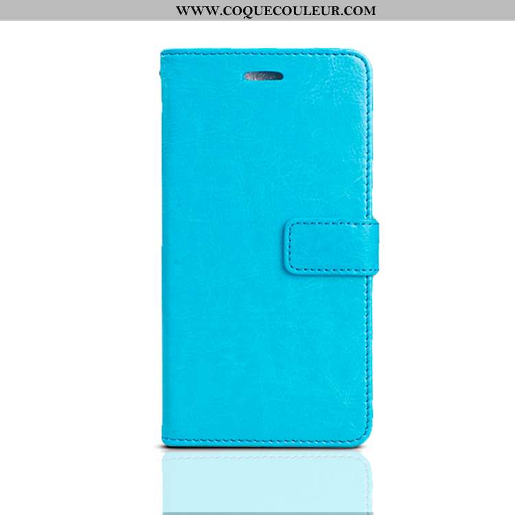 Coque Xiaomi Redmi Note 7 Silicone Bleu Clamshell, Housse Xiaomi Redmi Note 7 Protection Fluide Doux