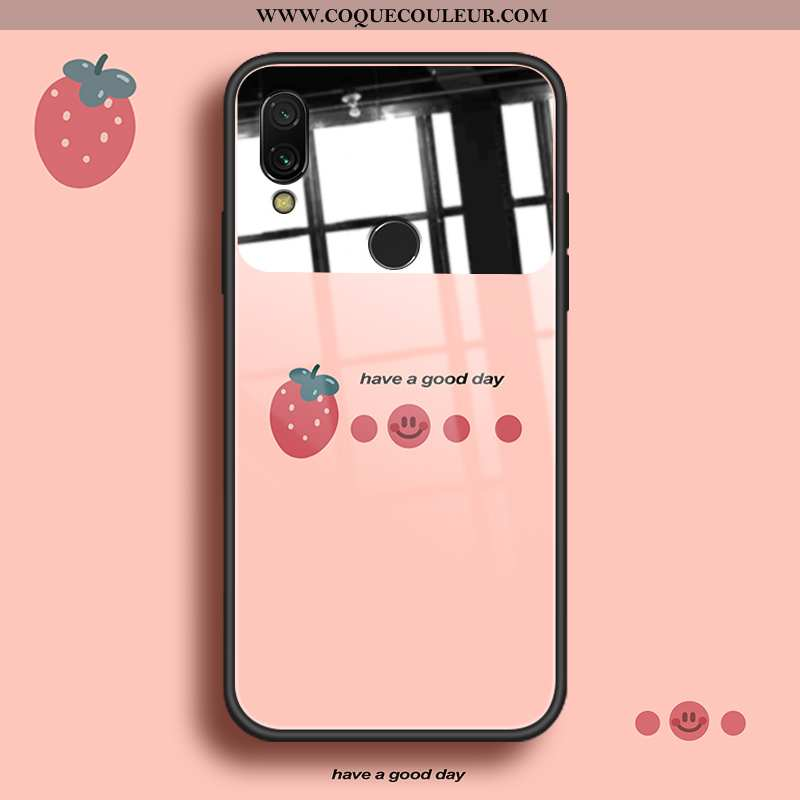 Coque Xiaomi Redmi Note 7 Personnalité Frais Coque, Housse Xiaomi Redmi Note 7 Créatif Protection Ro