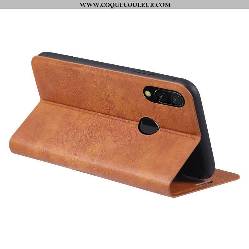 Coque Xiaomi Redmi Note 7 Cuir Carte Personnalité, Housse Xiaomi Redmi Note 7 Protection Tendance Ma