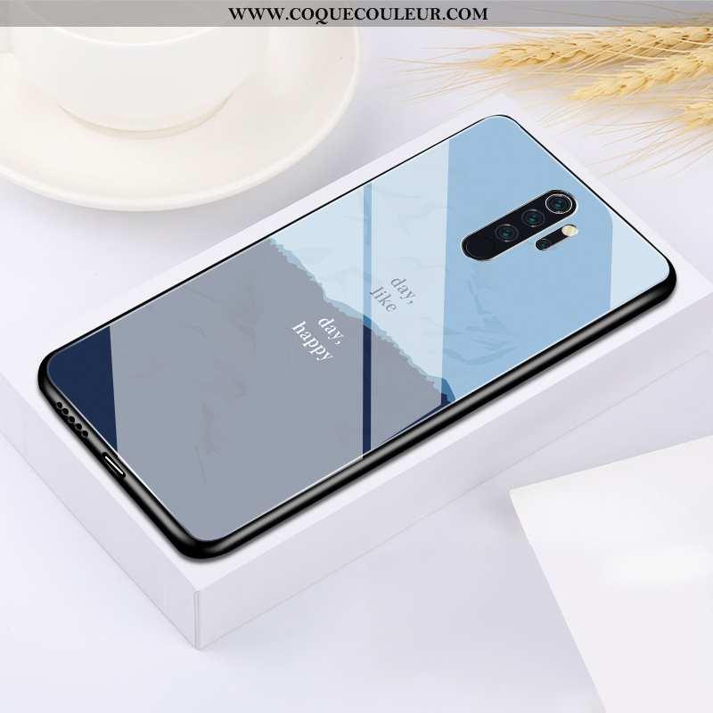 Coque Xiaomi Redmi Note 8 Pro Ultra Bleu, Housse Xiaomi Redmi Note 8 Pro Tendance Étui Bleu