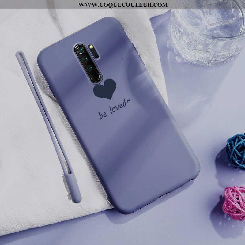 Étui Xiaomi Redmi Note 8 Pro Silicone Tout Compris Violet, Coque Xiaomi Redmi Note 8 Pro Protection