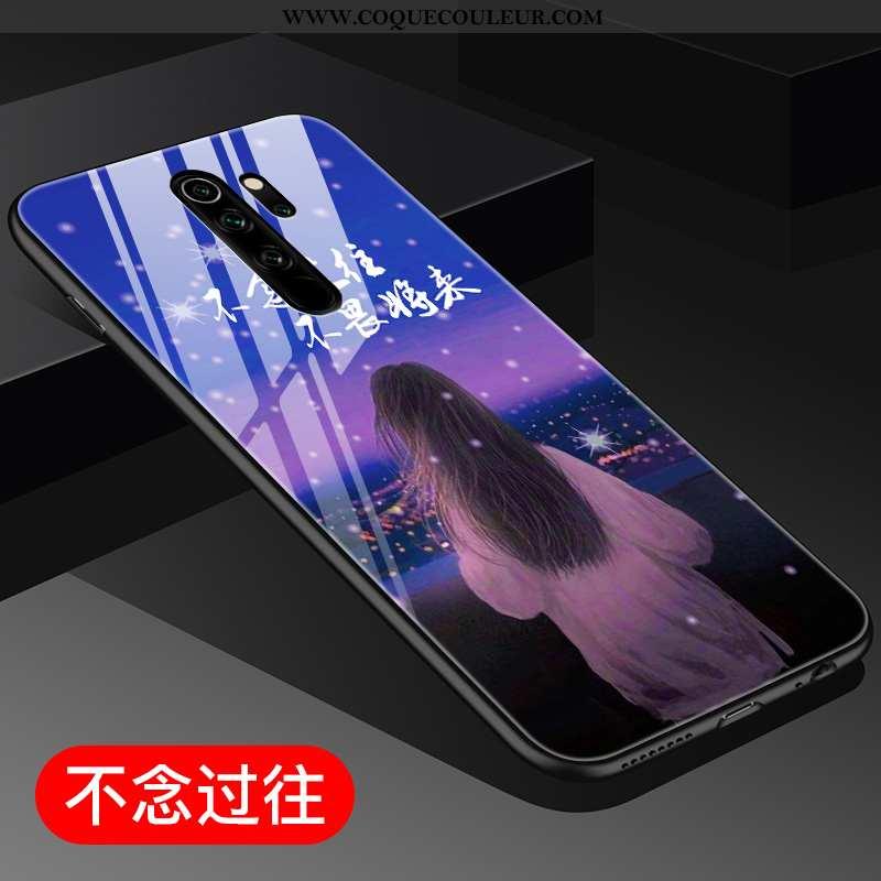 Étui Xiaomi Redmi Note 8 Pro Personnalité Miroir Incassable, Coque Xiaomi Redmi Note 8 Pro Créatif P