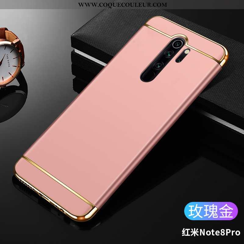 Étui Xiaomi Redmi Note 8 Pro Légère Ultra, Coque Xiaomi Redmi Note 8 Pro Protection Incassable Rose