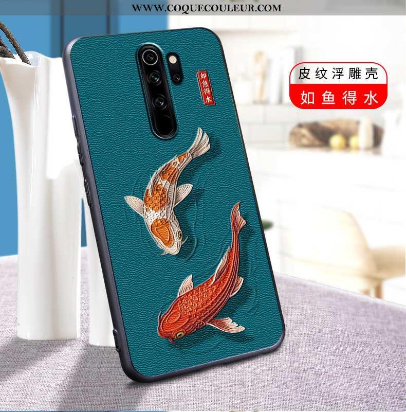 Coque Xiaomi Redmi Note 8 Pro Personnalité Délavé En Daim Silicone, Housse Xiaomi Redmi Note 8 Pro C