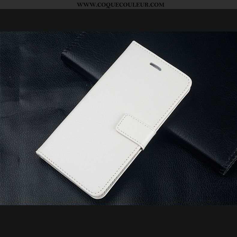 Étui Xiaomi Redmi Note 8 Pro Cuir Tempérer Rouge, Coque Xiaomi Redmi Note 8 Pro Fluide Doux Incassab