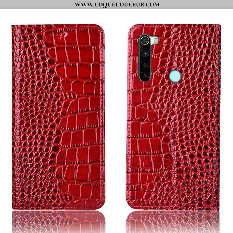 Housse Xiaomi Redmi Note 8t Protection Petit Housse, Étui Xiaomi Redmi Note 8t Cuir Véritable Téléph