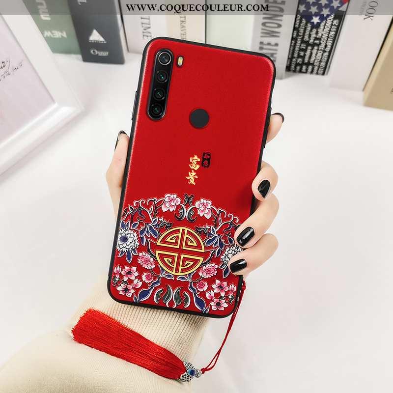 Étui Xiaomi Redmi Note 8t Silicone Tout Compris Étui, Coque Xiaomi Redmi Note 8t Imprimé Créatif Rou