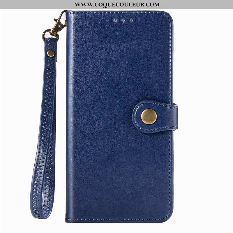 Étui Xiaomi Redmi Note 8t Protection Coque, Coque Xiaomi Redmi Note 8t Fluide Doux Bleu