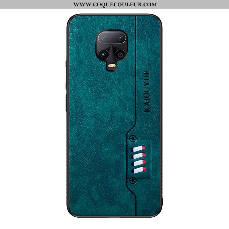 Coque Xiaomi Redmi Note 9 Pro Cuir Fluide Doux Téléphone Portable, Housse Xiaomi Redmi Note 9 Pro Mo