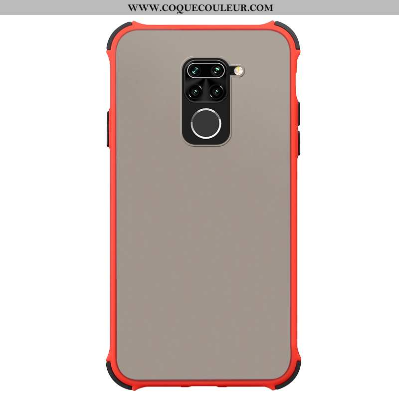 Étui Xiaomi Redmi Note 9 Protection Simple Incassable, Coque Xiaomi Redmi Note 9 Fluide Doux Télépho