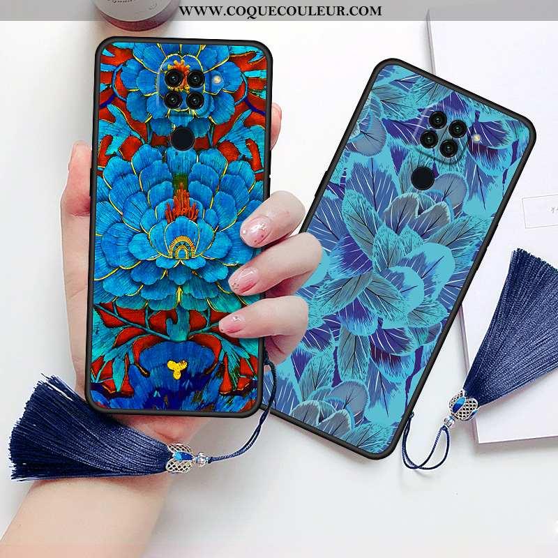 Housse Xiaomi Redmi Note 9 Silicone Style Chinois Incassable, Étui Xiaomi Redmi Note 9 Protection Co