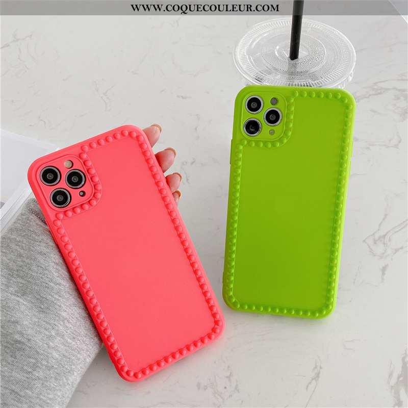 Étui iPhone 11 Pro Max Personnalité Silicone Vent, Coque iPhone 11 Pro Max Créatif Tout Compris Vert