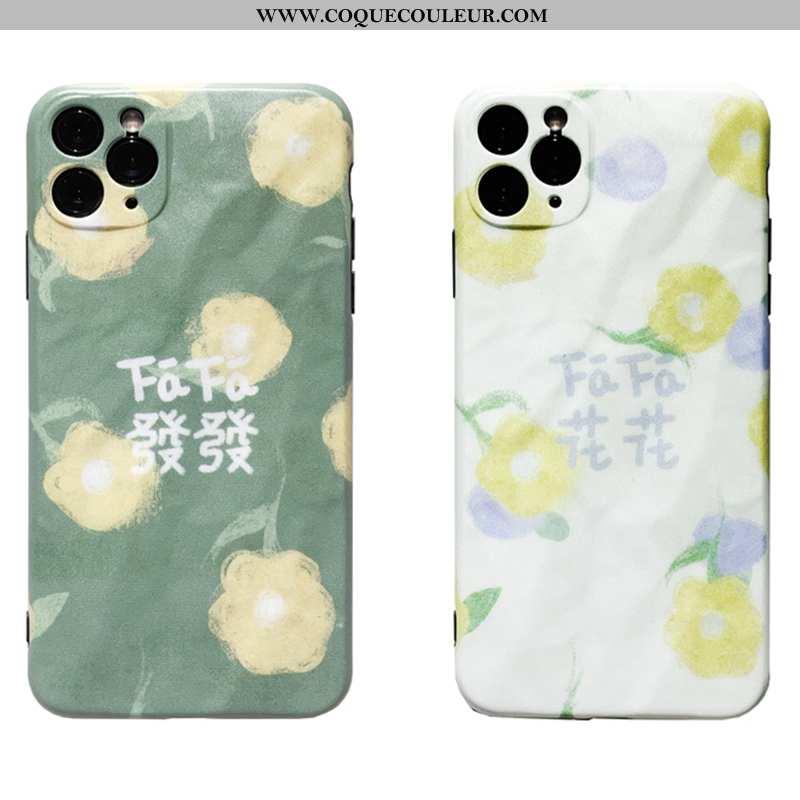 Coque iPhone 11 Pro Max Créatif Téléphone Portable Personnalité, Housse iPhone 11 Pro Max Fluide Dou