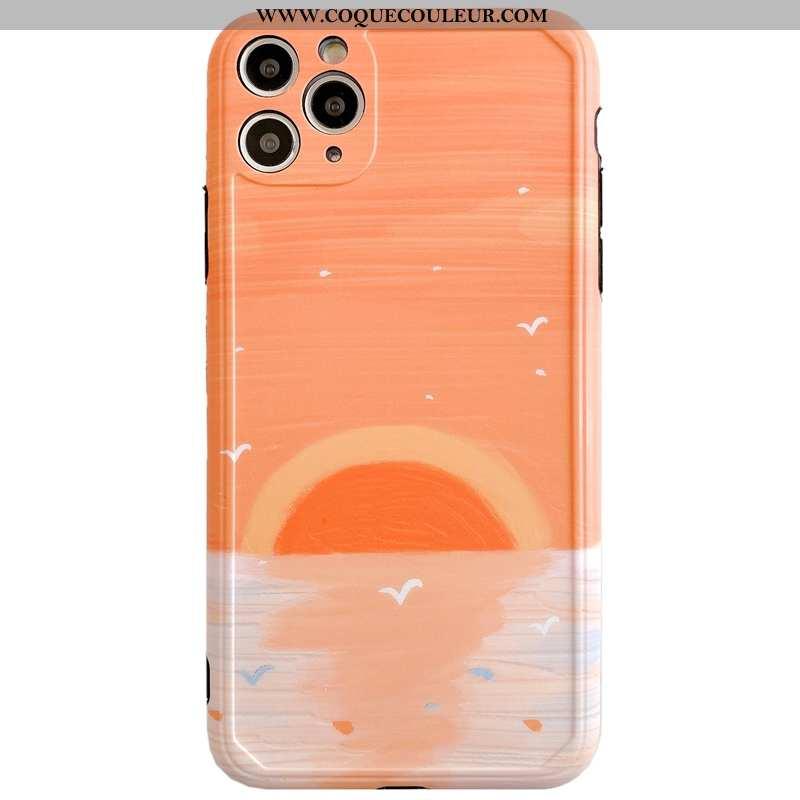 Coque iPhone 11 Pro Max Protection Silicone Tout Compris, Housse iPhone 11 Pro Max Personnalité Art