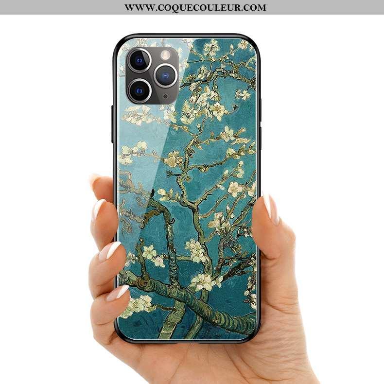 Coque iPhone 11 Pro Max Silicone Bleu Ciel Étoilé, Housse iPhone 11 Pro Max Protection Haute