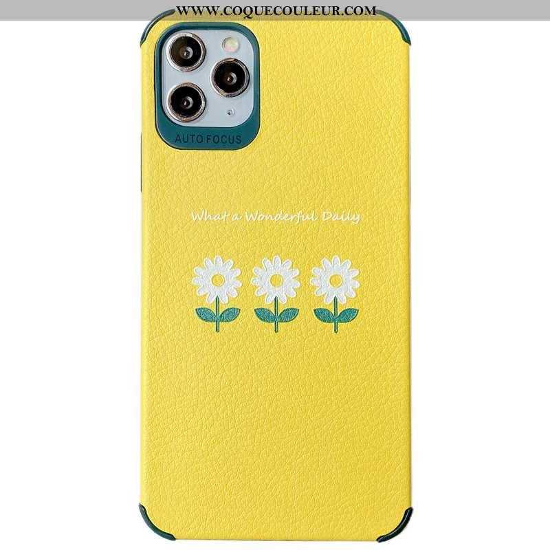 Coque iPhone 11 Pro Max Protection Téléphone Portable Soie Mulberry, Housse iPhone 11 Pro Max Person