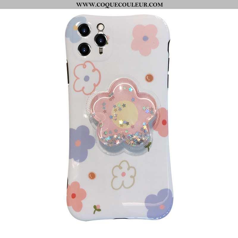 Housse iPhone 11 Pro Fluide Doux Rose Étui, Étui iPhone 11 Pro Protection Coque