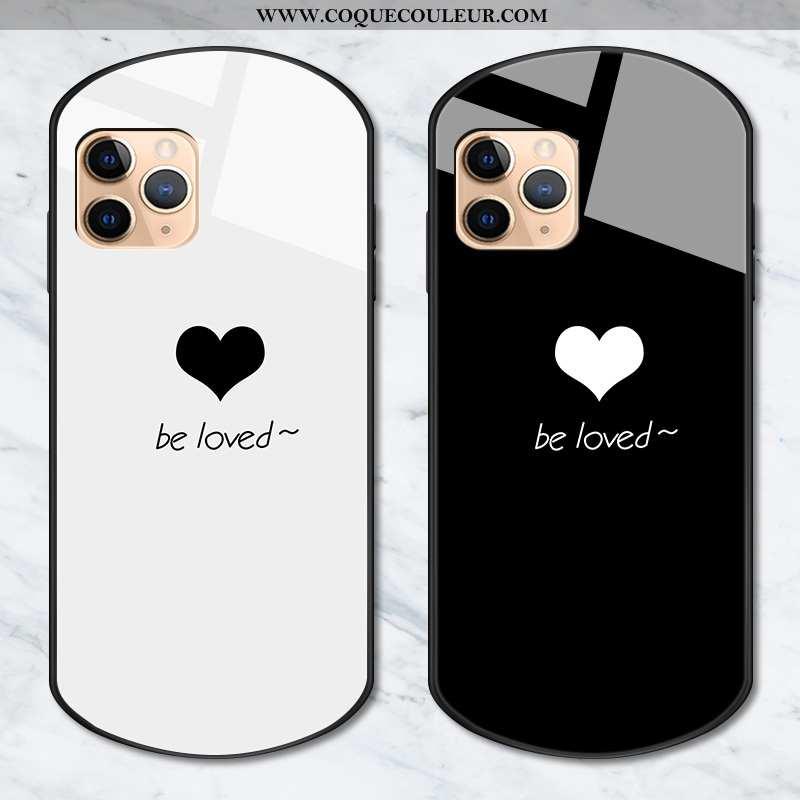 Étui iPhone 11 Pro Personnalité Téléphone Portable Coque, Coque iPhone 11 Pro Créatif Jeux Noir