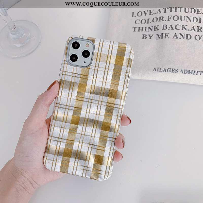 Étui iPhone 11 Pro Protection Coque Simple, iPhone 11 Pro Tendance Tout Compris Jaune
