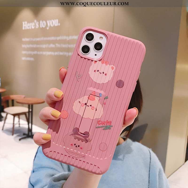 Housse iPhone 11 Pro Charmant Rose Vent, Étui iPhone 11 Pro Tendance Dessin Animé