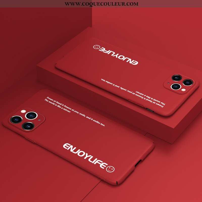 Housse iPhone 11 Pro Légère Personnalité Créatif, Étui iPhone 11 Pro Protection Ultra Rouge