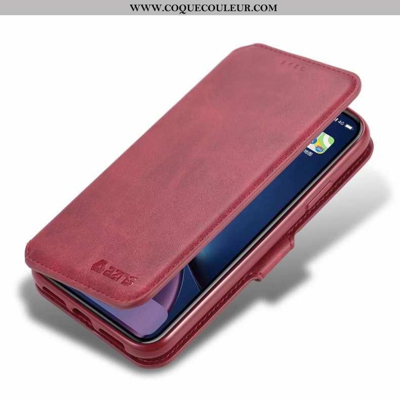 Coque iPhone 11 Protection Incassable Téléphone Portable, Housse iPhone 11 Ornements Suspendus Cuir