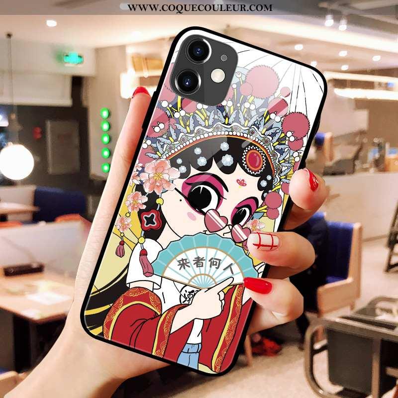 Housse iPhone 11 Créatif Téléphone Portable Rouge, Étui iPhone 11 Tendance Silicone Rouge