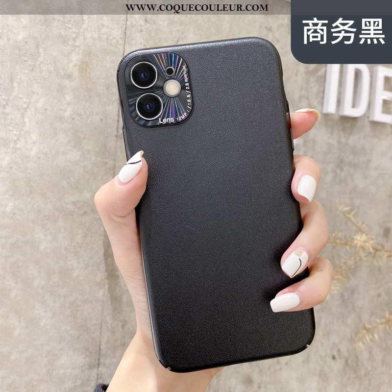 Étui iPhone 11 Créatif Difficile Incassable, Coque iPhone 11 Tendance Vent Noir