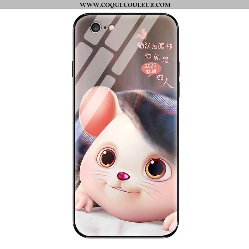 Housse iPhone 6/6s Plus Personnalité Net Rouge Tendance, Étui iPhone 6/6s Plus Créatif Rose