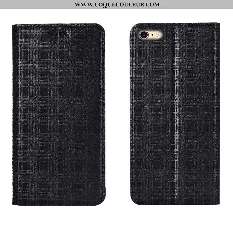 Coque iPhone 6/6s Plus Modèle Fleurie Cuir Incassable, Housse iPhone 6/6s Plus Protection Velours No