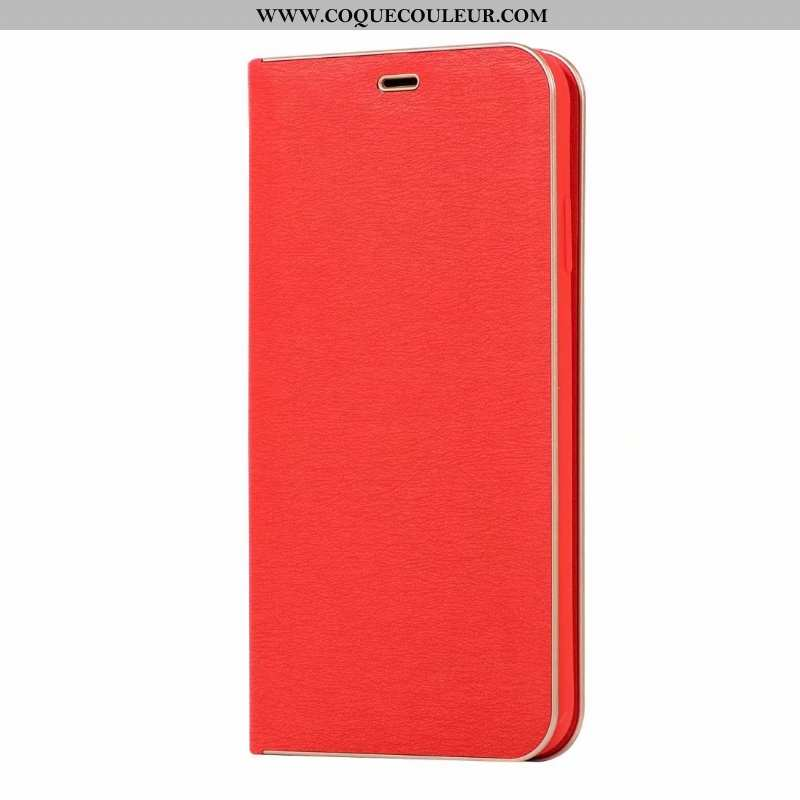 Coque iPhone 6/6s Plus Protection Incassable Coque, Housse iPhone 6/6s Plus Luxe Étui Rouge