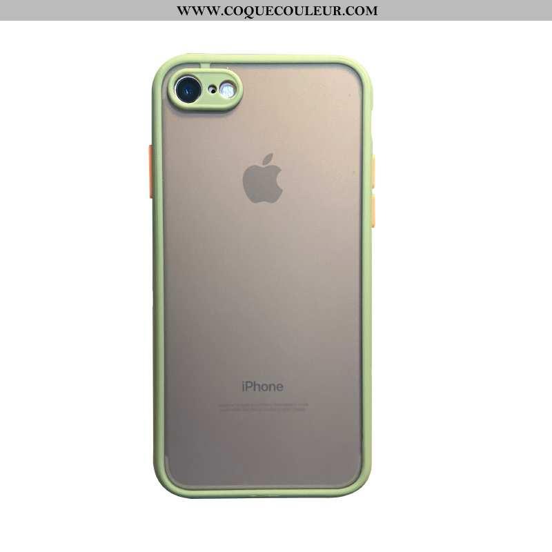 Coque iPhone 6/6s Plus Tendance Téléphone Portable Vert, Housse iPhone 6/6s Plus Silicone Transparen