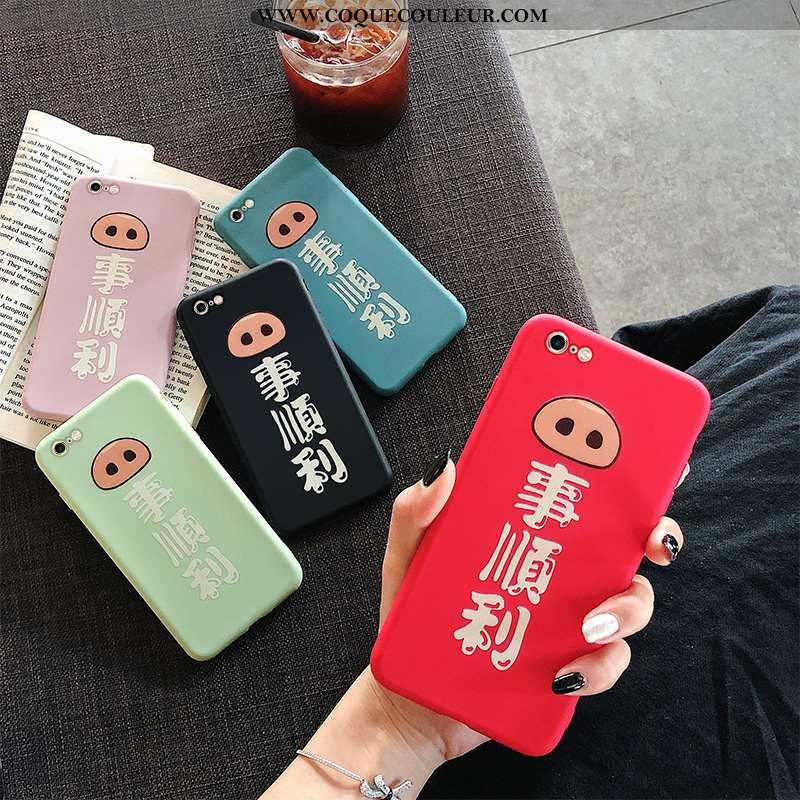 Étui iPhone 6/6s Tendance Coque Rouge, iPhone 6/6s Fluide Doux Net Rouge