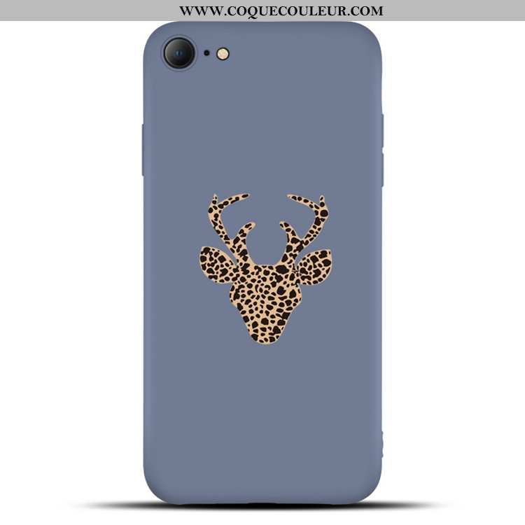 Housse iPhone 6/6s Mode Étui Bleu Marin, iPhone 6/6s Protection Membrane Bleu Foncé