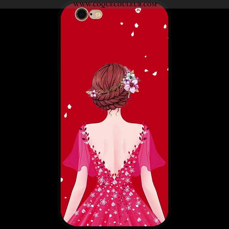 Étui iPhone 6/6s Fluide Doux Rouge Coque, Coque iPhone 6/6s Personnalité Nouveau