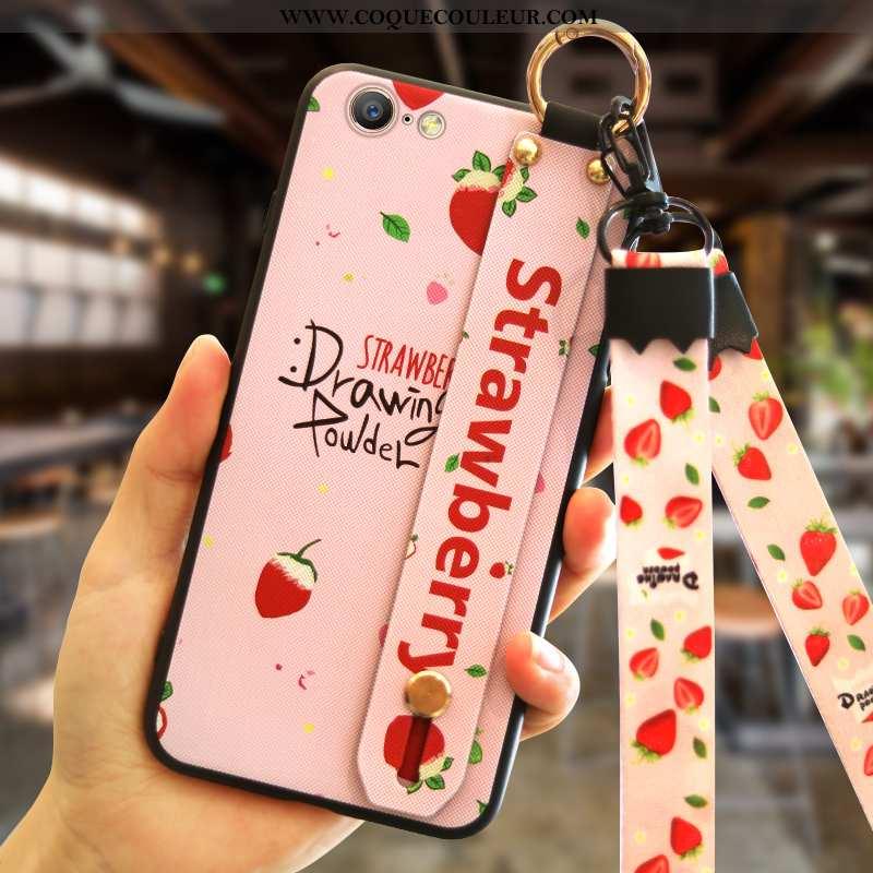 Étui iPhone 6/6s Silicone Rose Coque, Coque iPhone 6/6s Tendance Téléphone Portable
