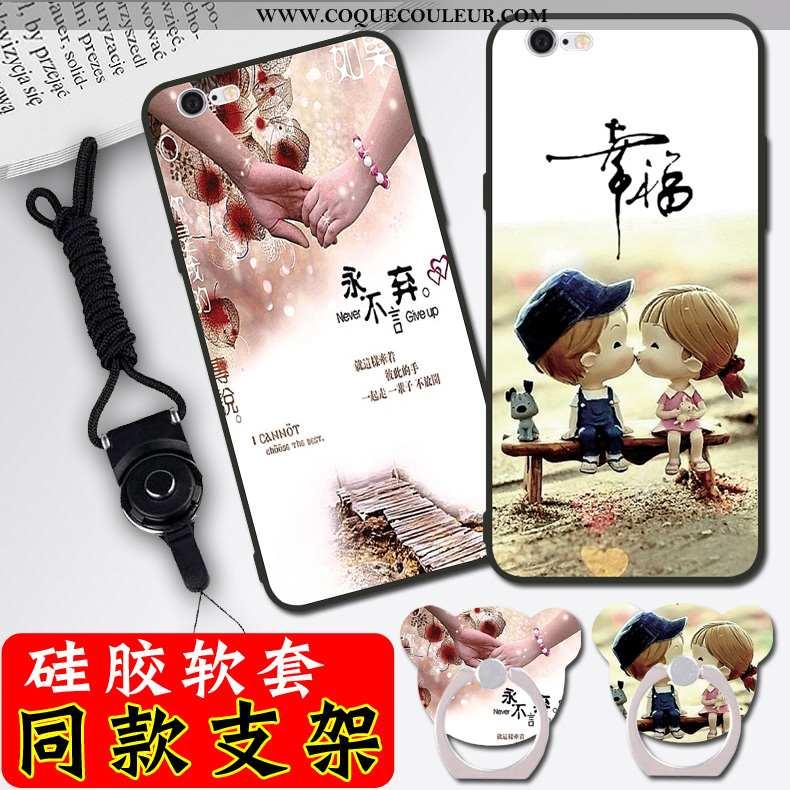 Coque iPhone 6/6s Dessin Animé Téléphone Portable Nouveau, Housse iPhone 6/6s Silicone Simple Blanch