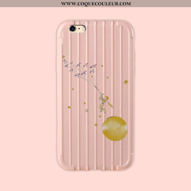 Housse iPhone 6/6s Légère Légères Petit, Étui iPhone 6/6s Fluide Doux Personnalité Rose