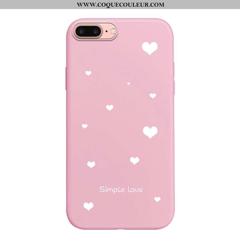 Housse iPhone 7 Plus Dessin Animé Téléphone Portable Protection, Étui iPhone 7 Plus Fluide Doux Pers