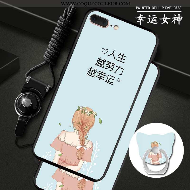 Coque iPhone 7 Plus Silicone Téléphone Portable Coque, Housse iPhone 7 Plus Protection Fluide Doux B
