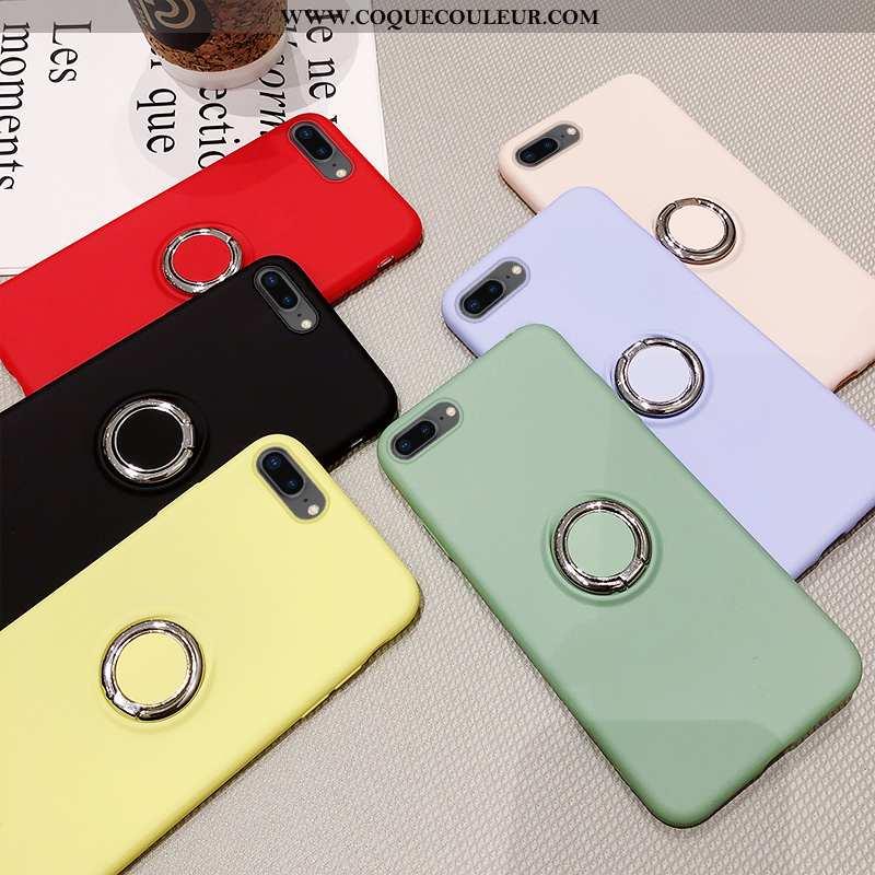 Étui iPhone 7 Plus Fluide Doux Incassable, Coque iPhone 7 Plus Membrane Téléphone Portable Verte